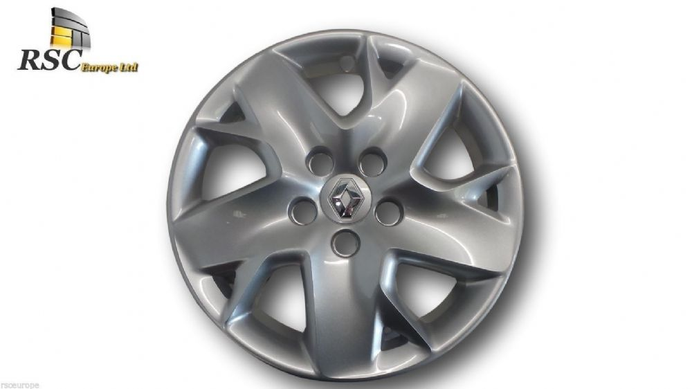 "NEW RENAULT MEGANE III METALLIC SILVER 16"" WHEEL TRIM / COVER 403159075R"
